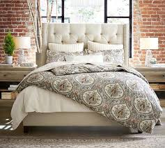 Pottery Barn Bed For Sale Pottery Barn Headboards Upholstered Pottery Barn Chesterfield