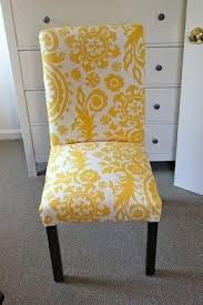 Yellow Dining Chair Upholstered Parsons Dining Chairs Foter