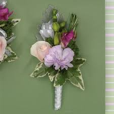 boutonniere flower pastel flower boutonniere with freesia call us 206 728 2588