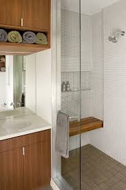 Mission Style Vanities Cherry Mission Style Bench Bathroom Modern With Flat Panel