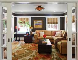 Country Chic Family And Media Room Traditional Family Room - Country family rooms