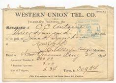 vintage telegram for graduates westernunion wu history