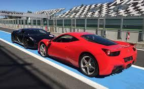 Ferrari 458 Gt - trio gt nissan lambo ferrari dijon prenois circuit 21 lrs