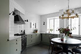 beautiful kitchen white gloss doors taste