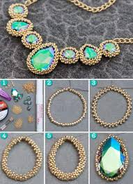 diy picture necklace images 50 statement diy necklace tutorials for gifting and fashion jpg