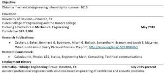 What Should I Include On My Resume As A Phd Student Applying For Internships Where Should I Include