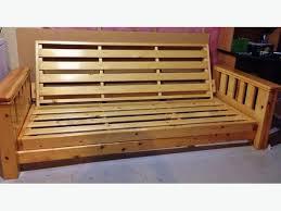 solid wood futon frame north east calgary