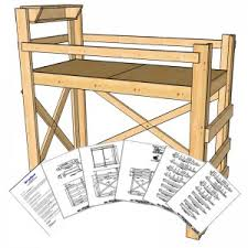 Build Your Own Loft Bed Free Plans by Free Bookshelf Plans Op Loftbed