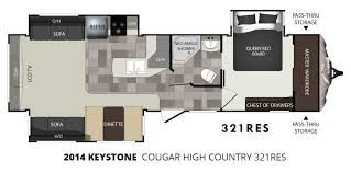 2014 keystone cougar high country 321res travel trailer u2013 stock