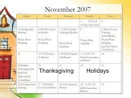 calendar coeli child dev center last update 04 28 ppt