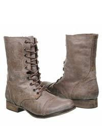 light brown combat boots steve madden troopa combat boot where to buy how to wear