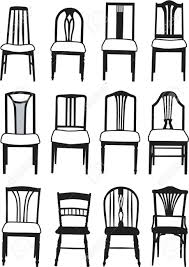 Types Of Dining Room Chairs by Dining Room Chair Styles Bombadeagua Me