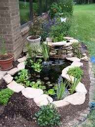 Patio Pond by From Container To Pond U2014 Greater Cincinnati Water Garden Society