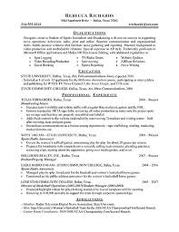 Example Of Resume Skills And Qualifications by An Example Of Resume Marketing Manager Combination Resume Sample