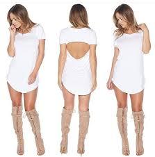 dress date cute dress boots booties open back white