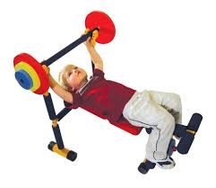 fun and fitness for kids weight bench walmart com