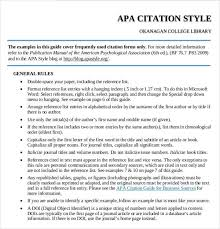 apa style example apa style blog direct quotations 8 apa format