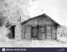log cabin drawings romantic wooden cabin in mountain landscape beautiful pencil