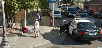 Usa Google Maps by Down And Out In The Usa Google Street View World Funny Street