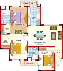 Best 3 Bedroom Floor Plan by Emejing Apartment Plans 3 Bedroom Images Amazing Design Ideas