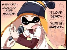 eromame u0027s inkling avatar sings a yuri song splatoon know your meme