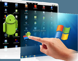 windows for android how to run android on windows and windows on android