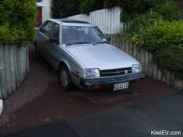 mitsubishi cordia the original kiwi ev electric car conversion
