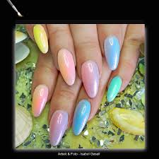flux pigments effects for uv gel mermaid and rainbow nails vw e