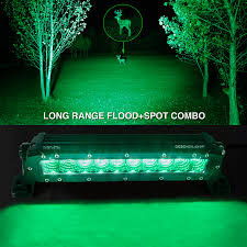 green light for hog hunting green hunting fishing 10 inch high power led for offroad vehicles