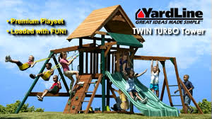 Costco Playground Twin Turbo Tower Playset By Yardline Play System Video Gallery