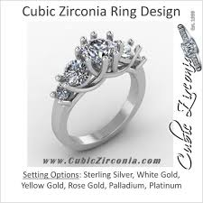 cubic zirconia engagement rings white gold cubic zirconia engagement rings cz engagement rings cubic