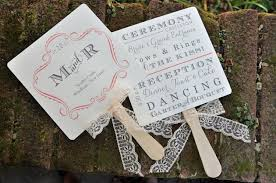 fan programs for wedding vintage wedding favors 100 vintage wedding favor fans or fan by