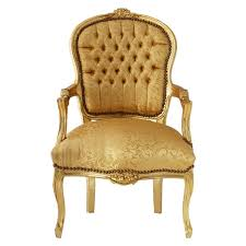 Bedroom Chairs Uk Only Bedroom Chair In Gold With Lovely Floral Pattern Gold Leafed Wood
