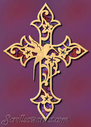 scroll saw patterns religious inspirational other crosses