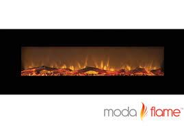 linear electric fireplace binhminh decoration