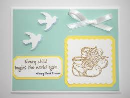 memorable diy congratulation baby shower card idea with silver bow