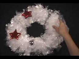 diy wreath tutorial make it with sandwich bags for 3