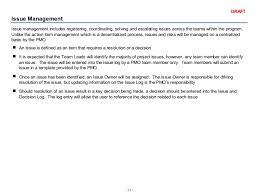 decision log template risk log 49 erp project management primer
