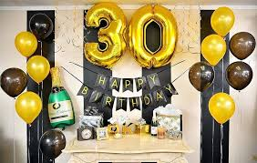 Cool 30th Birthday Decoration View In Gallery Years Awesome 7