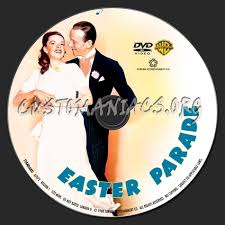 parade dvd easter parade dvd label dvd covers labels by customaniacs id