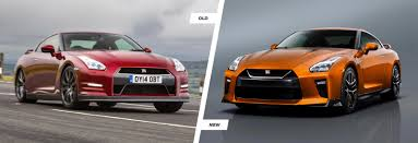 nissan black car old nissan gt r facelift old vs new compared carwow