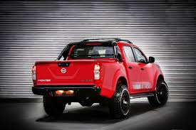 red nissan frontier lifted the new nissan frontier attack concept william simpson nissan