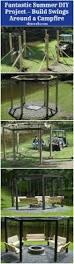 fantastic summer diy project u2013 build swings around a campfire
