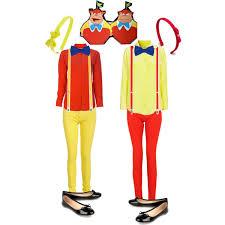 Tweedle Dee And Tweedle Dum Costumes Gangster Halloween Costumes Pinstripe Gangster Moll Mobster