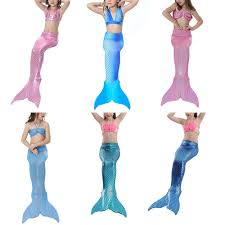 online get cheap mermaid swimming costumes for kids aliexpress