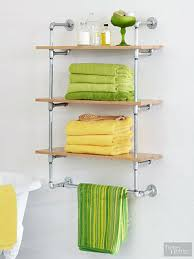 Shelving Units For Bathrooms Diy Shelving Unit
