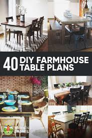 Wedding Plans And Ideas Best 25 Diy Farmhouse Table Ideas On Pinterest Farm Table Diy