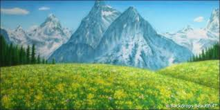 mountain backdrop aspen mountains 4 backdrop backdrops beautiful