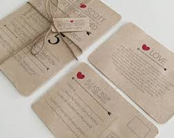 wedding invitation paper wedding invitation kits etsy