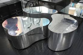 Free Coffee Tables Exceptional Set Of 3 Free Form Coffee Tables By Karl Springer
